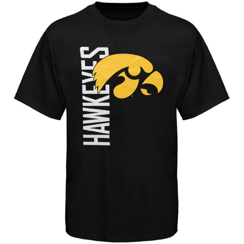 Iowa Hawkeyes Youth Go Large T Shirt Black | Iowa hawkeyes