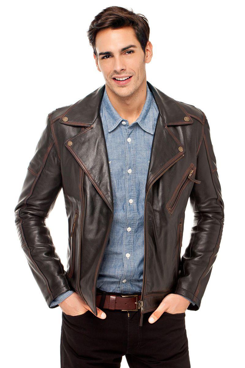 Leather Jacket from Derimod. (Turkey) Deri ceket, Deri