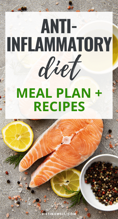 Anti-Inflammatory Diet Meal Plan + Recipes