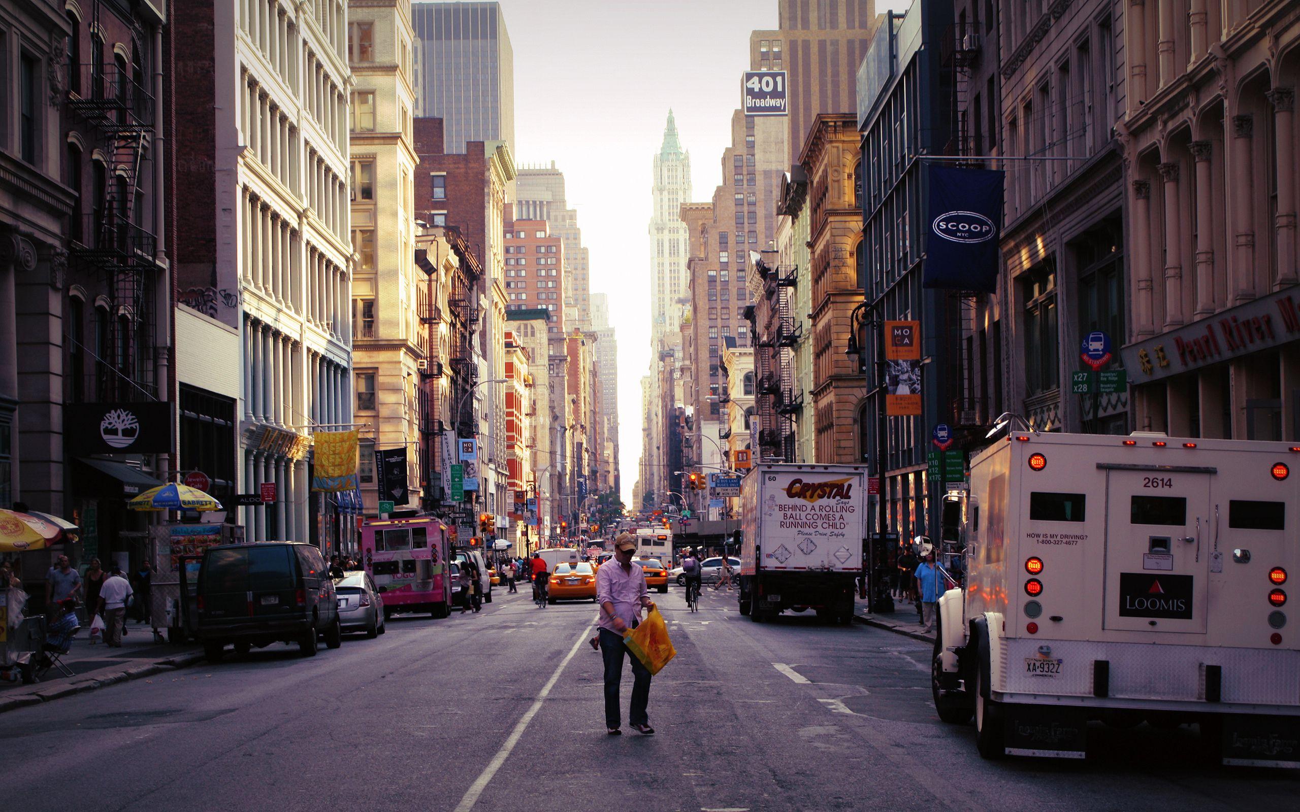 Hd Wallpaper City Street New York Wallpapers Xpx