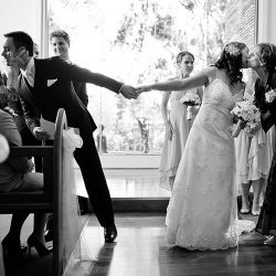 Fun ways to thank loved ones for their wedding contributions! (Photo credit: Jeremy Beasley)