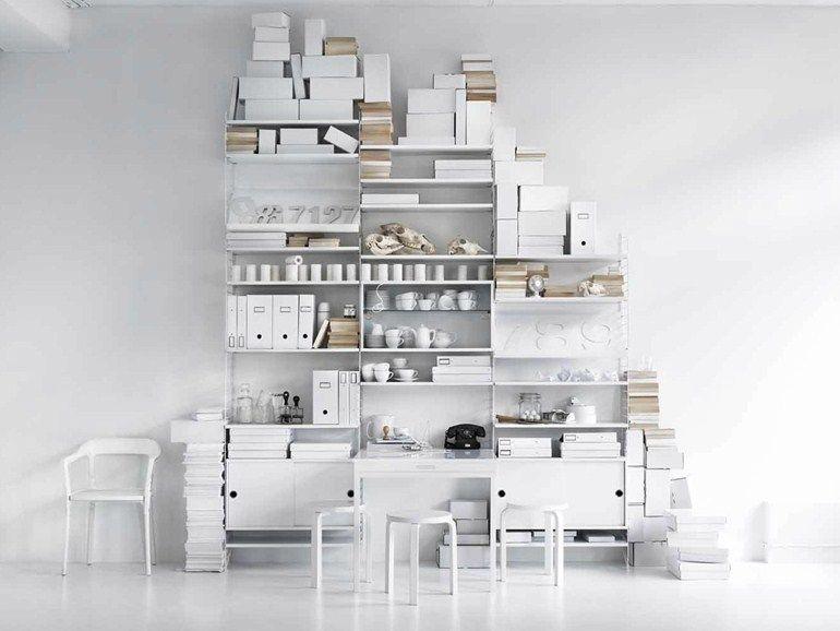 Regal SYSTEM by String Furniture Design Nils Strinning | Möbel ...