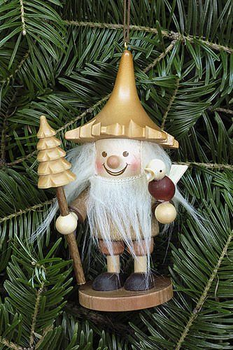 Tree Ornaments Tree Ornament Tree Gnome Natural 12cm 5 Inch