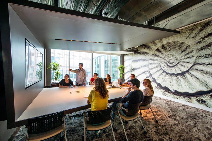 Camenzind Evolution Design Google Offices Designboom