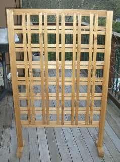 Wood Slat Vertical Garden Trellis | GARDEN SCREENING ROLL 2m X 4m Screen  Fencing Fence Panel