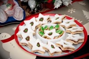 Smart Balance Recipe - Starry, Starry Nutella Filled Shortbread Cookies