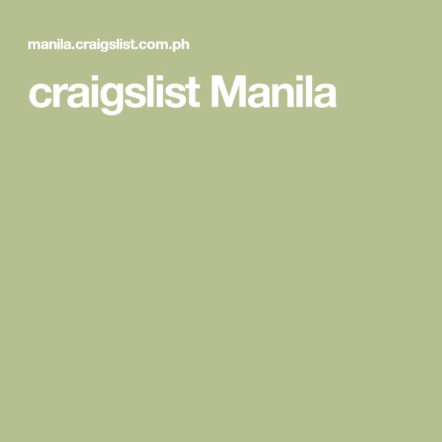 craigslist angeles city philippines