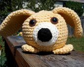 This was the first of the Rollie Pollies inspired by the pengiun. I created him for a dear friend. He looks like her little puppy. You can create your own. Visit 2ofUM.etsy.com