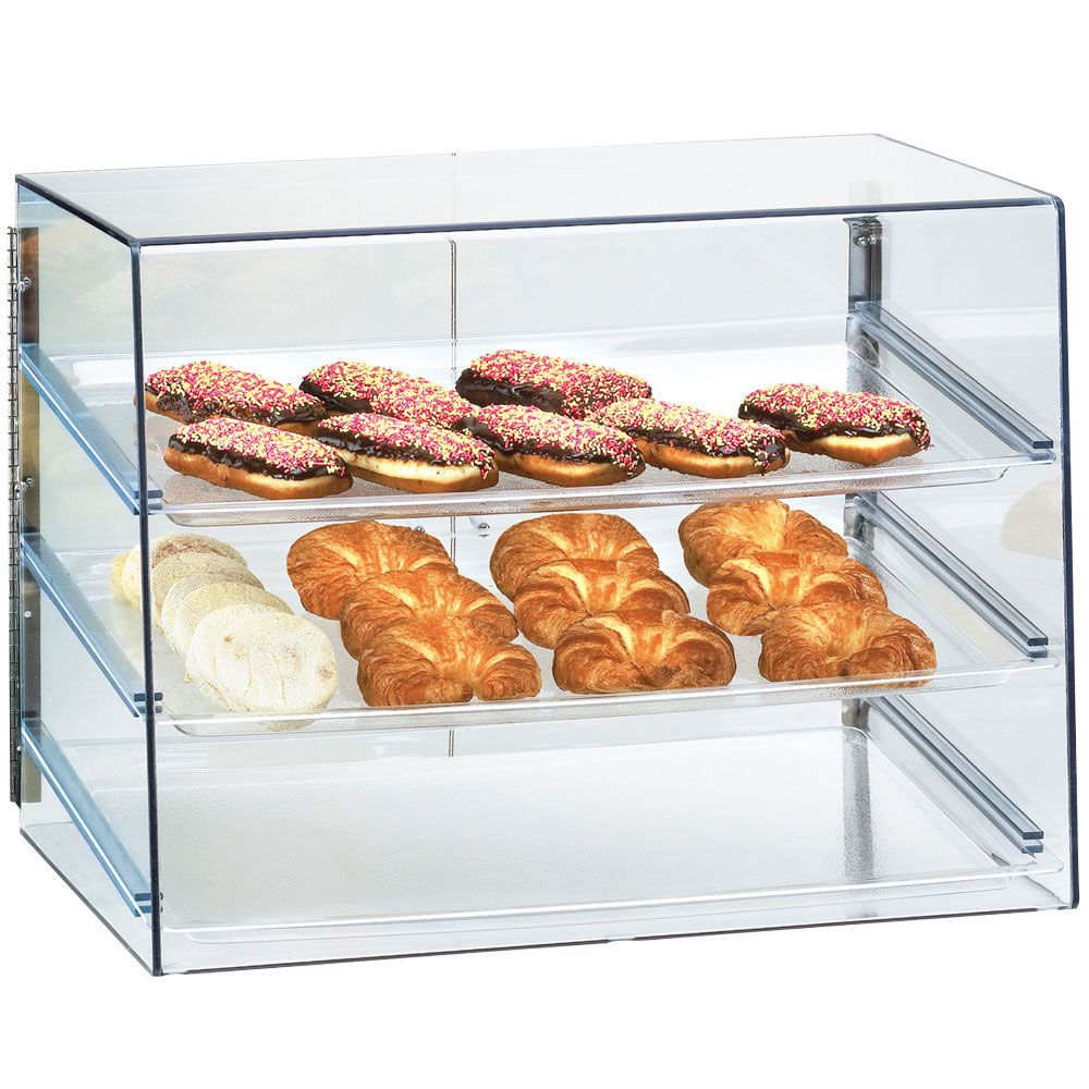 27w X 20h X 20d 3 Tray Large Econo Case With Images Bakery