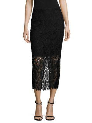 DIANE VON FURSTENBERG Tailored Overlay Pencil Skirt. #dianevonfurstenberg #cloth #skirt
