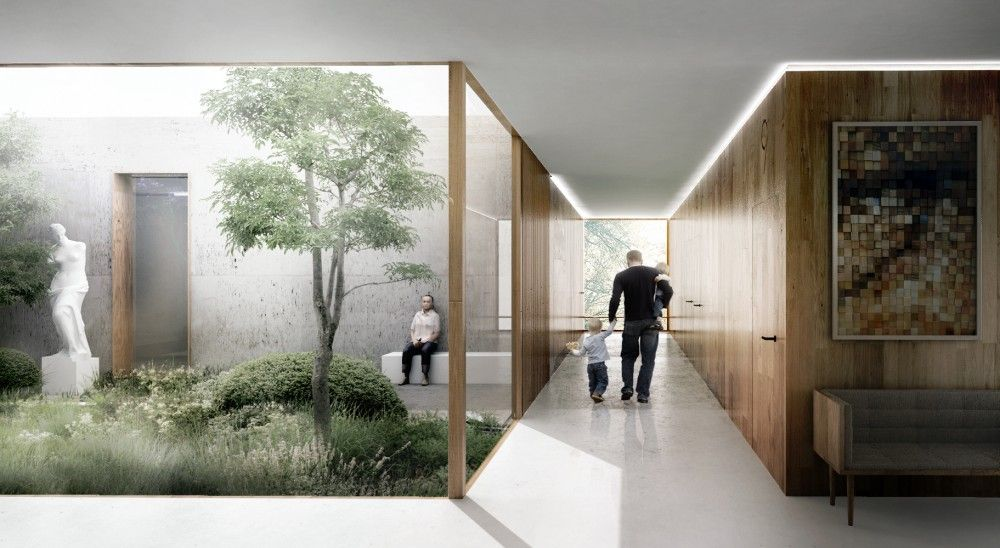 Gallery Of Competition Entry We Architecture And Creo Arkitekter