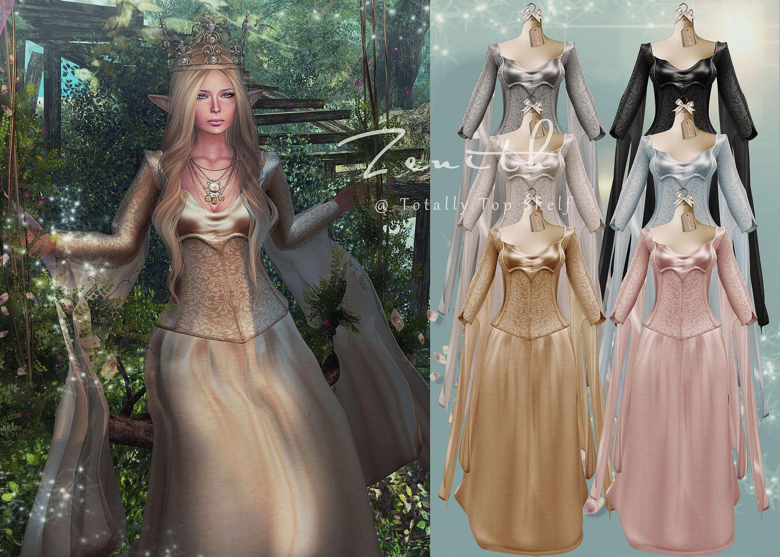 High Elf Princess dress @ TTS | Flickr - Photo Sharing!