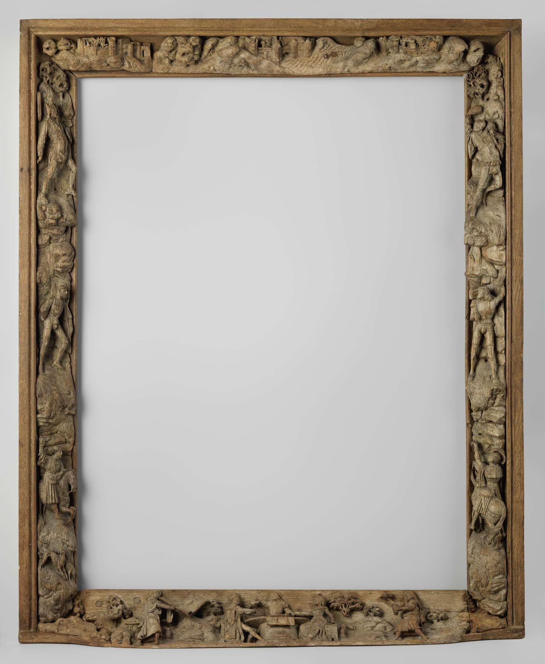 Houten schilderijlijst met figurale voorstellingen ca 1515 ca 1520 lijsten pinterest - Lay outs binnenkomst in het huis ...