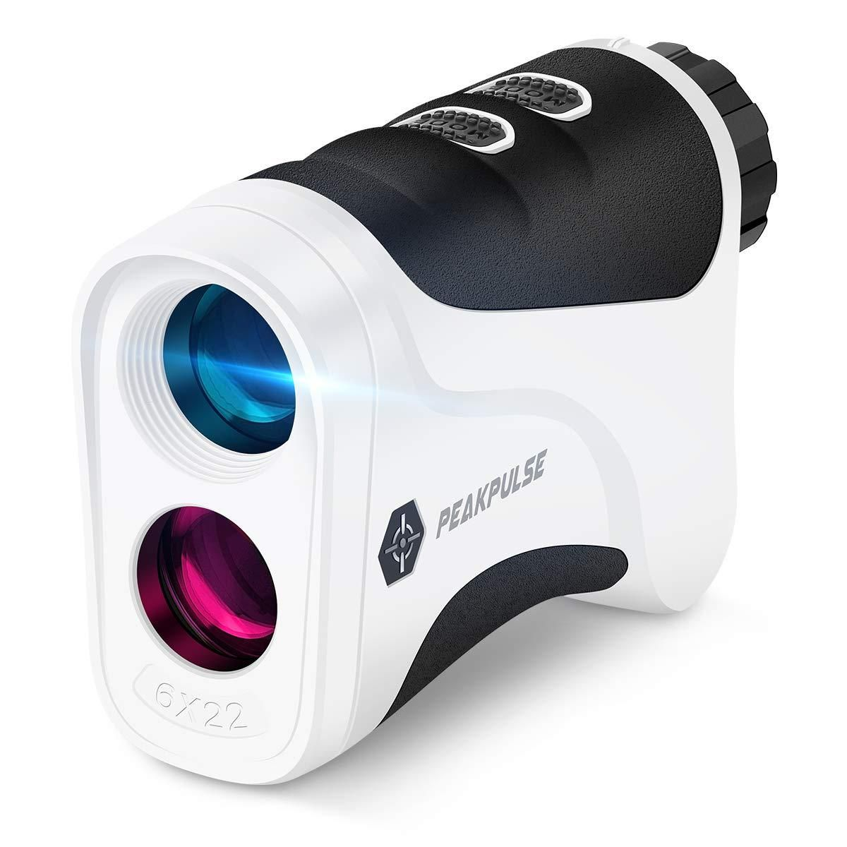 PEAKPULSE Golf Laser Rangefinder with Slope-Switch Technology, PinSeeker with JOLT Technology. - 6Pro Slope Version