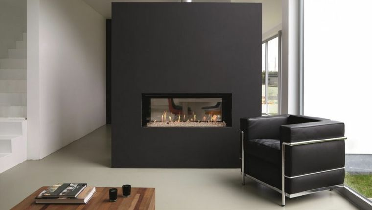 Cheminee Insert Double Face 50 Idees De Deco D Interieur