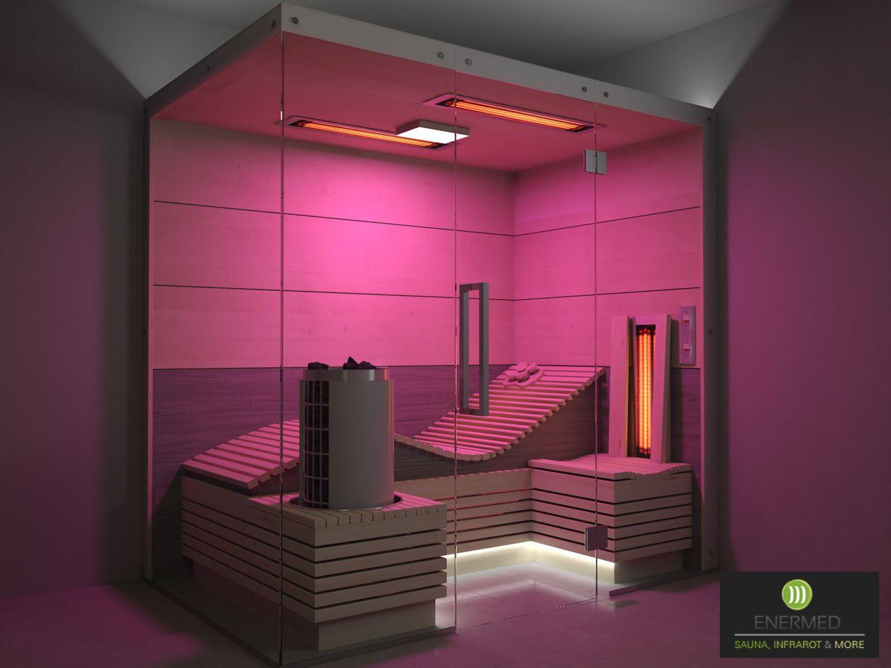 Mini Sauna Kleine Sauna Ergonomische Liege Infrarotkabine Liegekabine Farblicht Harvia Infrarotkabine Kleine Sauna Mini Sauna