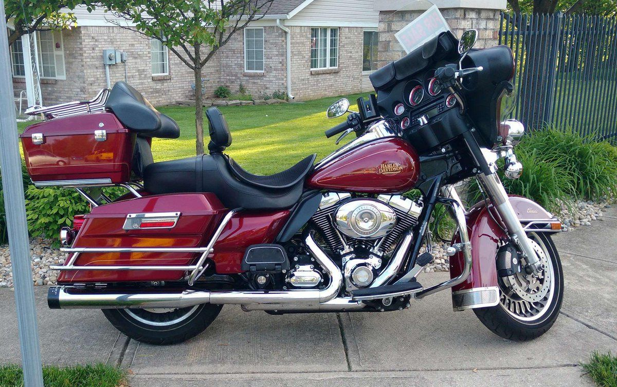 2010 HarleyDavidson Electric Glide Classic Motorcycles