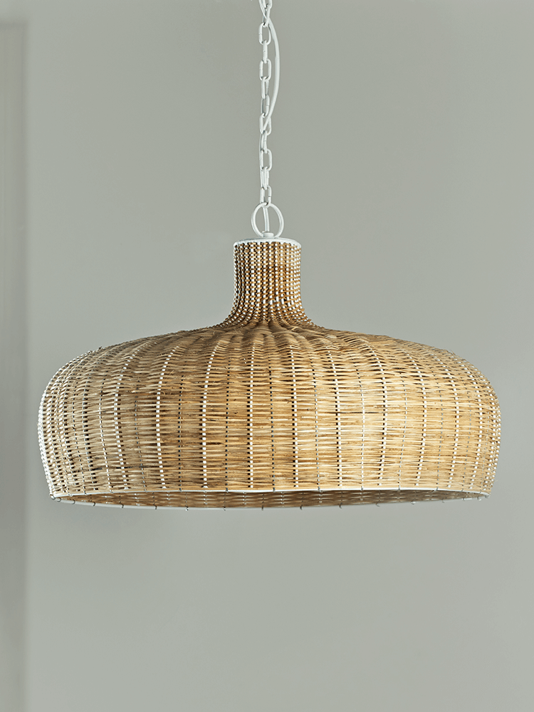 add a touch of scandinavian style to your lighting with our woven