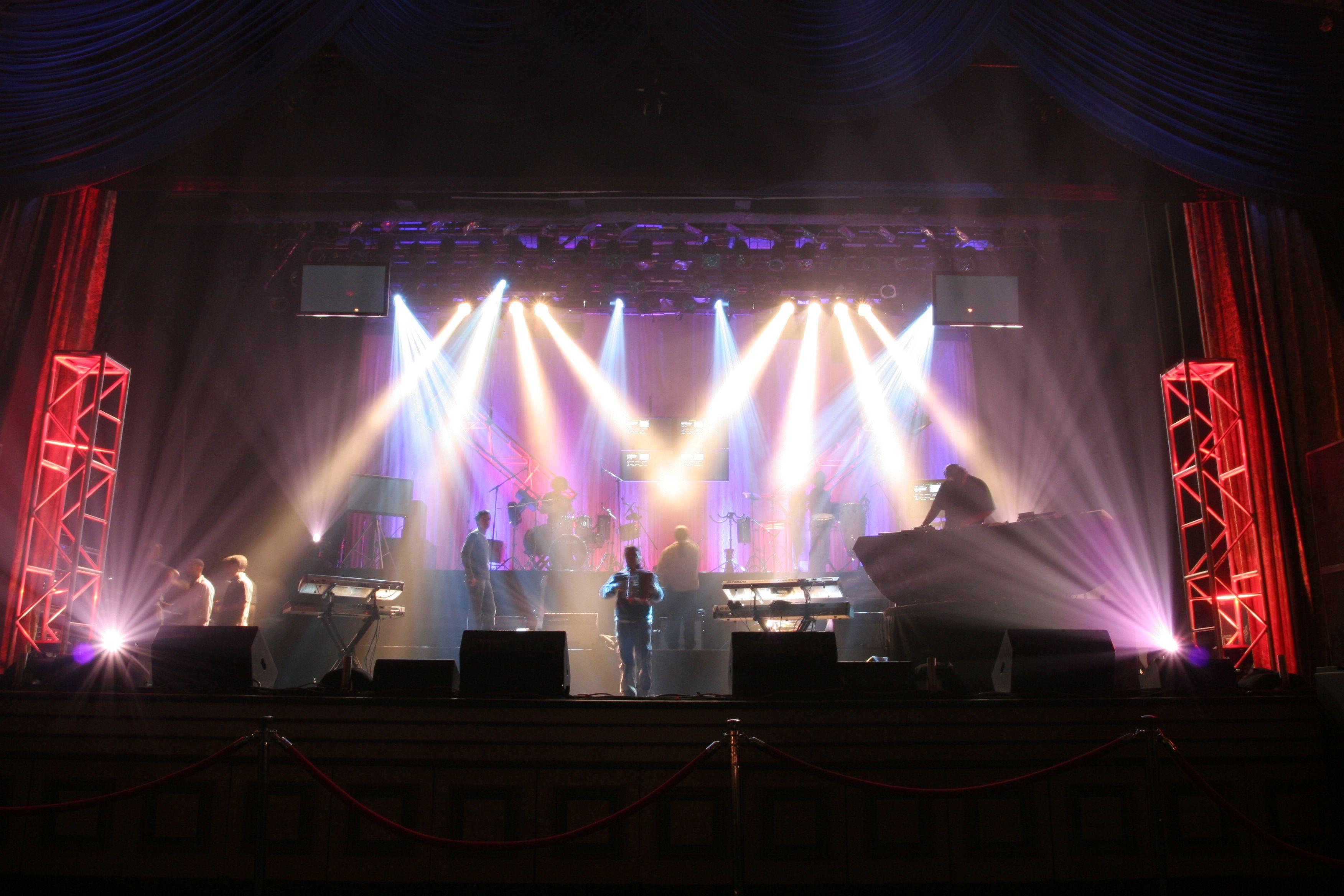 Concert Lighting Hammerstein Grand Ballroom Nyc Stage