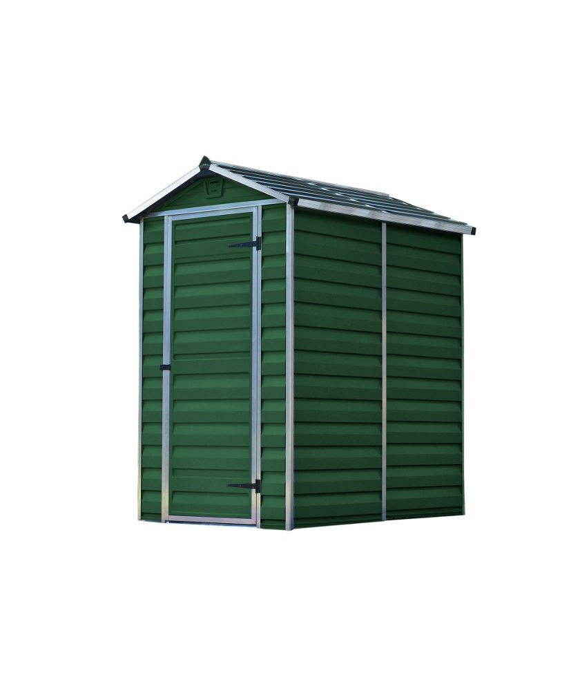 buy palram skylight plastic shed 6 x 4ft at. Black Bedroom Furniture Sets. Home Design Ideas