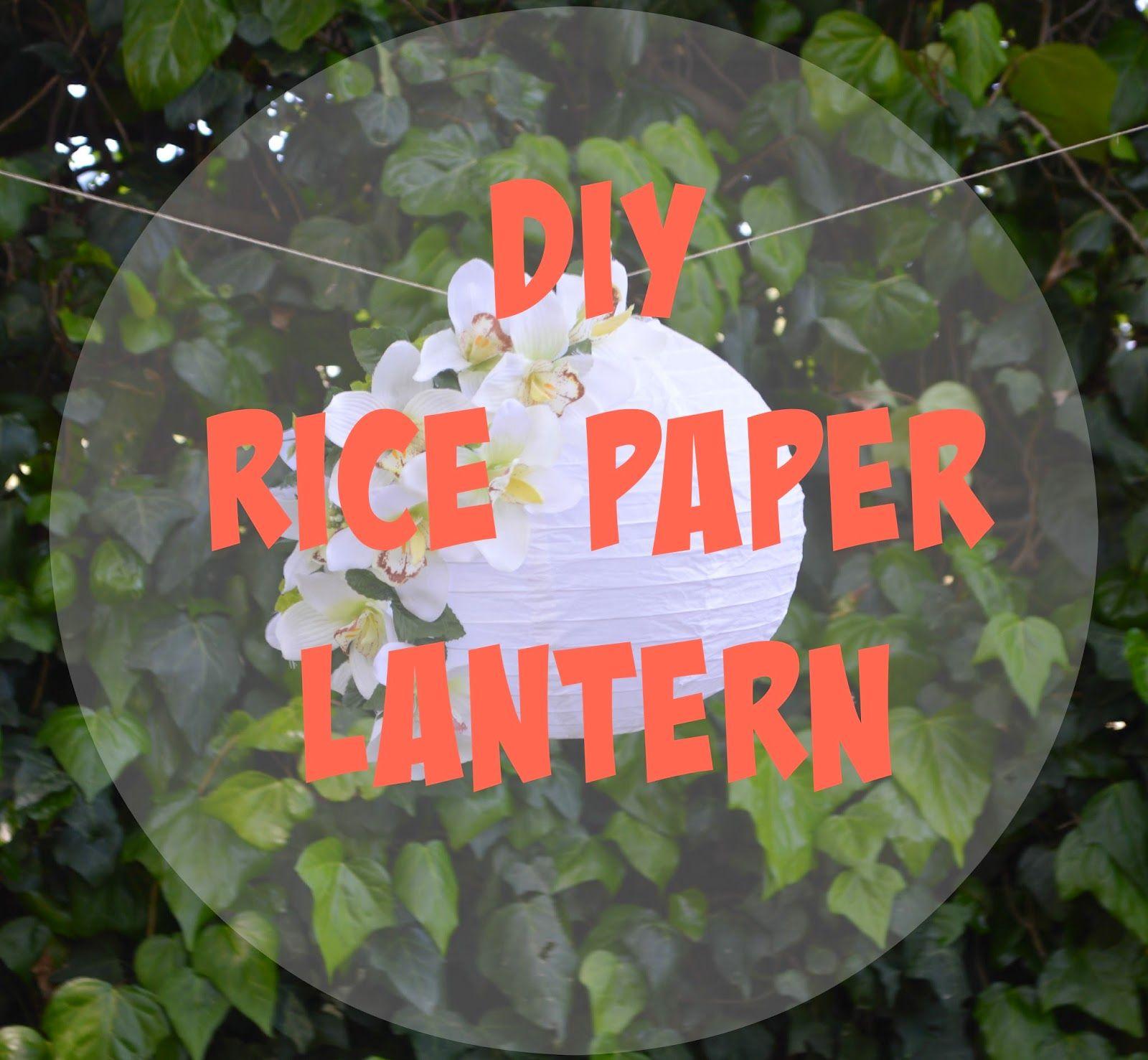 The SaturDIY - Open Days Brico Center : lanterna in carta di riso diy