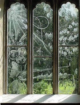 About St Nicholas Moreton Etched Glass Windows Glass Engraving Glass Design