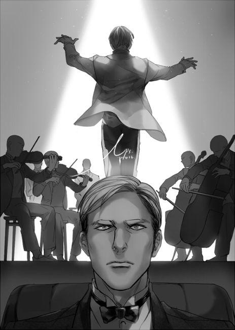 Eruri Erwin Smith x Levi Ackerman Anime/Manga: Shingeki no Kyojin (Attack on Titans) Artist: http://www.pixiv.net/member.php?id=2812373