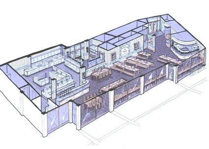 Restaurant Kitchen Design Plans Pin And More On Concept Designing