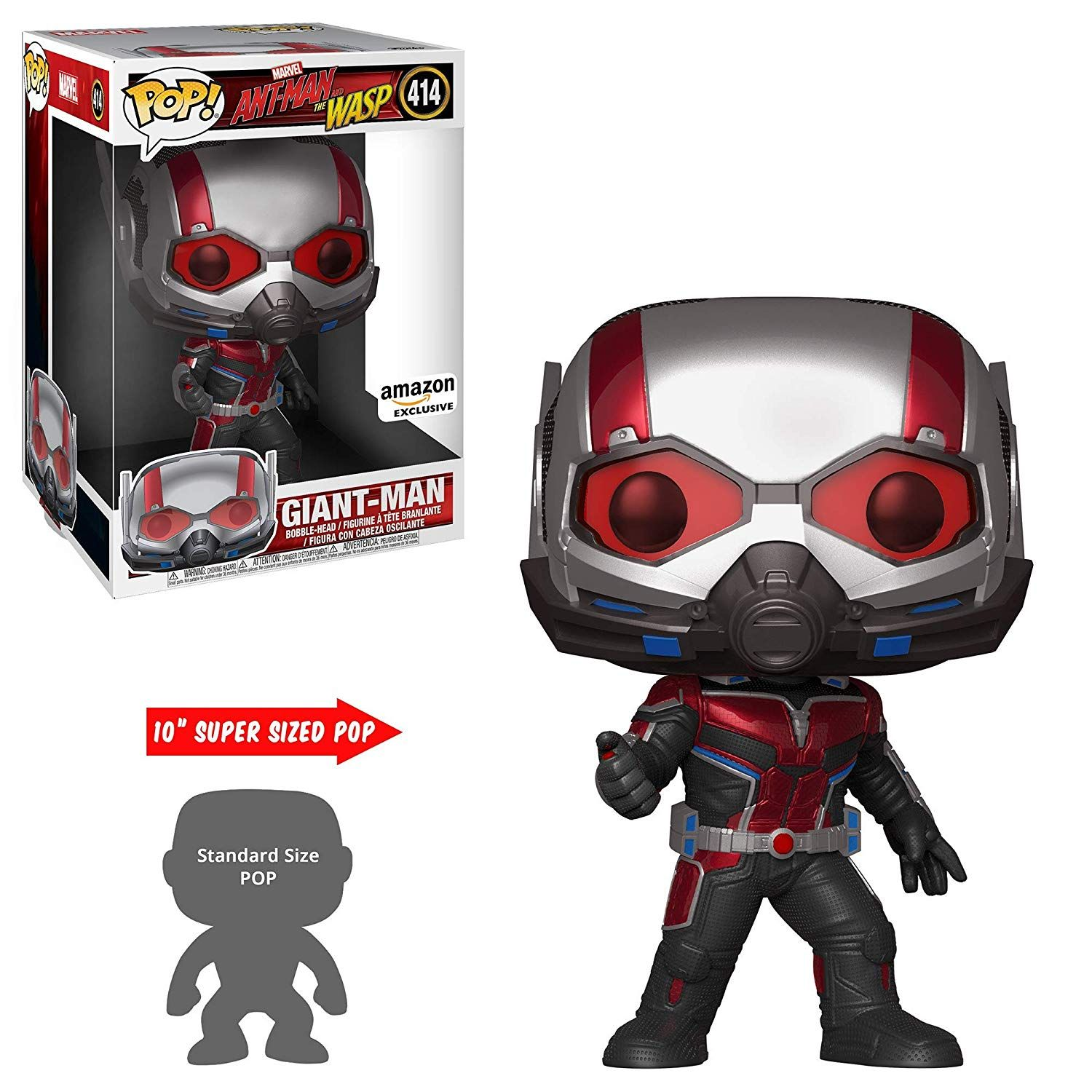 Ant-Man & The Wasp 10 Giant-Man Pop Vinyl Coming Soon