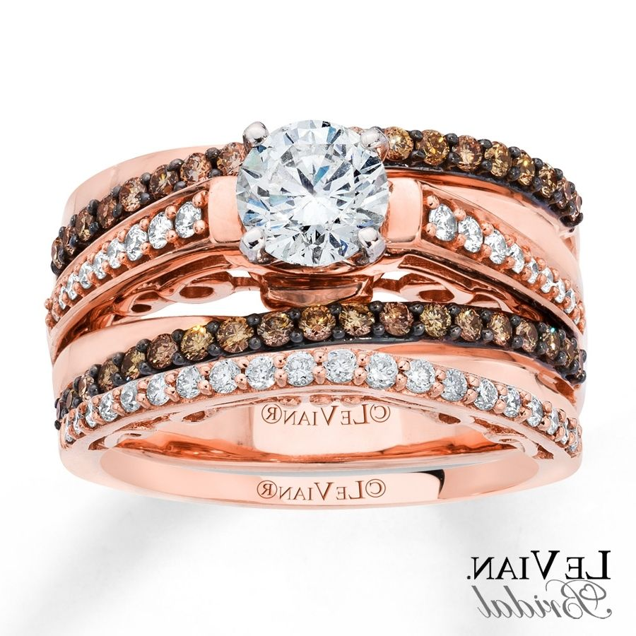 chocolate diamond wedding bands sets - Chocolate Diamond Wedding Ring Sets