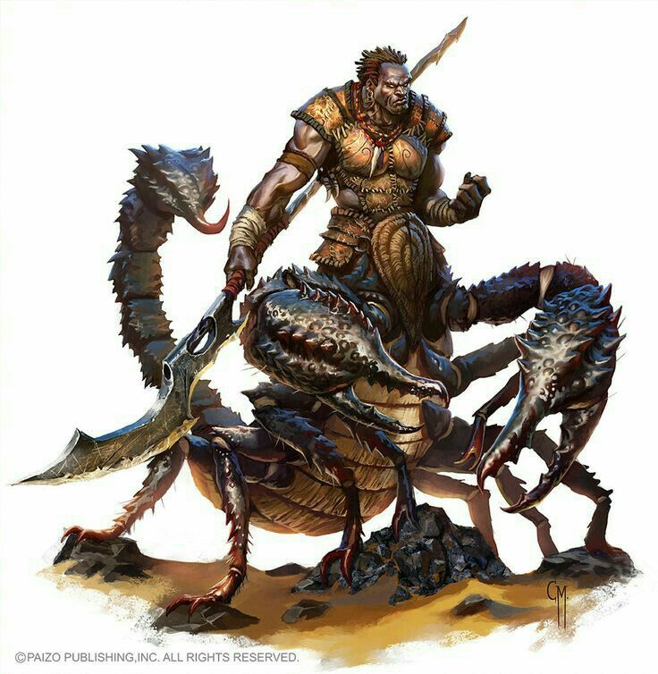 Human Scorpion Hybrid