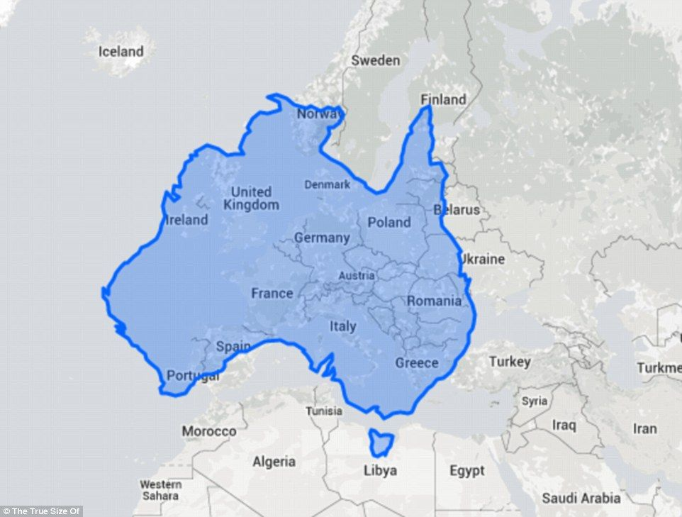 Interactive Map Shows The US India And Europe Can Fit Inside - India and us on a map