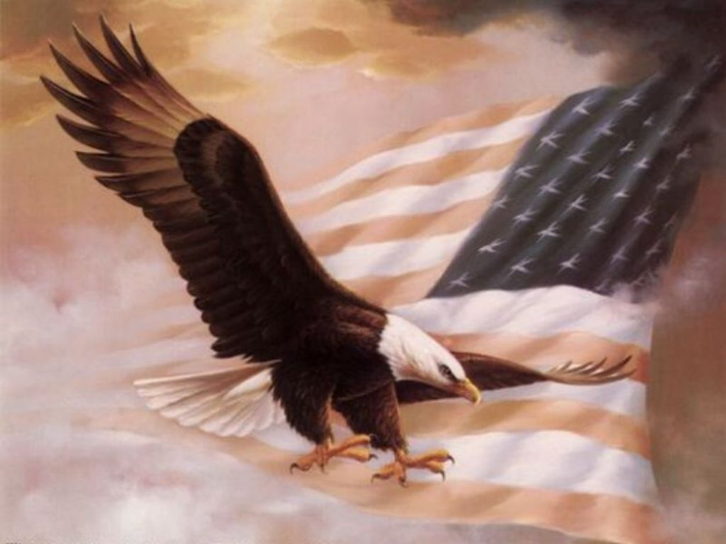 Images Of American Flag And Eagle