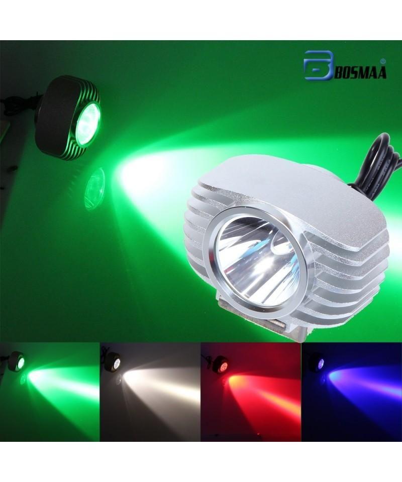 Bosmaa Led Car External Headlight 10w Motorcycle Drl Headlamp Spotlight Drive Silver 4976605114 Headlamp Motorcycle Lights Headlights