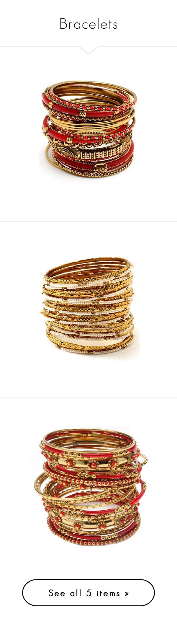 """Bracelets"" by thewearystars ❤ liked on Polyvore featuring jewelry, bracelets, amrita singh, amrita singh jewelry, amrita singh jewellery, amrita singh bangles, bangle bracelet, white bangle, bracelets bangle and bangle jewelry"