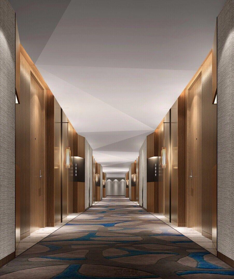 Hotel hall metropolis story present hotel hallway for Hotel corridor decor