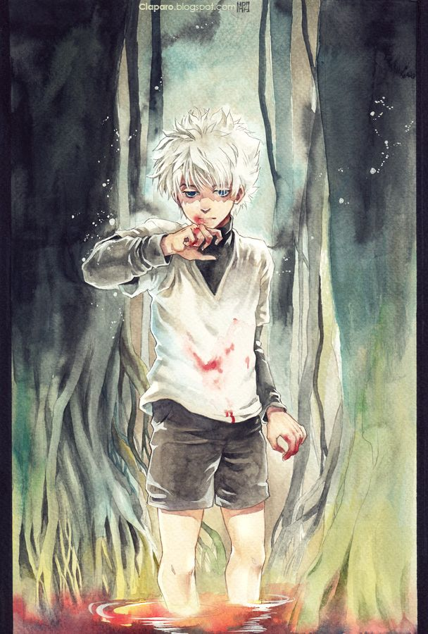 Killua By Claparo Sans Deviantart Com On Deviantart Hunter