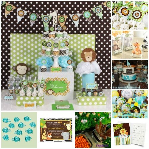 Safari Baby Shower Ideas For Boys | ... Themes Cool Ideas For A Baby