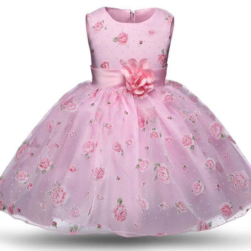 Girl Dress Summer New Floral Baby Girl Dress Princess Dress Colors Infant  Dresses Kids Clothing With Bow L268. Yesterday s price  US  26.55 (23.07  EUR). 36da6e87b9d7