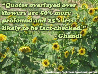 How profound!