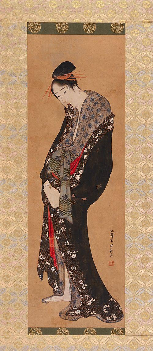 Hokusai, Courtesan , Edo period