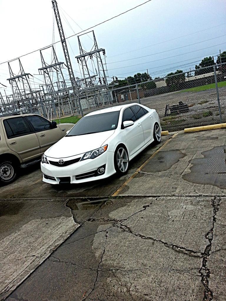 Photo 1 Toyota Camry Custom Wheels 20x9 0 Et Tire Size 245 40 R20 20x10 5 Et 275 35 R20 Toyota Camry Camry Toyota Corolla