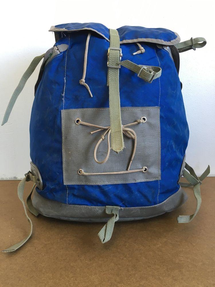 SACS MILLET Vtg Backpack 70s LE SHERPA Ruck Sack Bonatti France Hiking  Mountain…