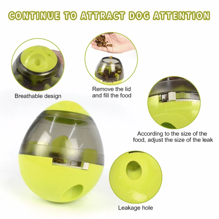 Interactive Dog Toys funny interactive dog cat food treat ball toy