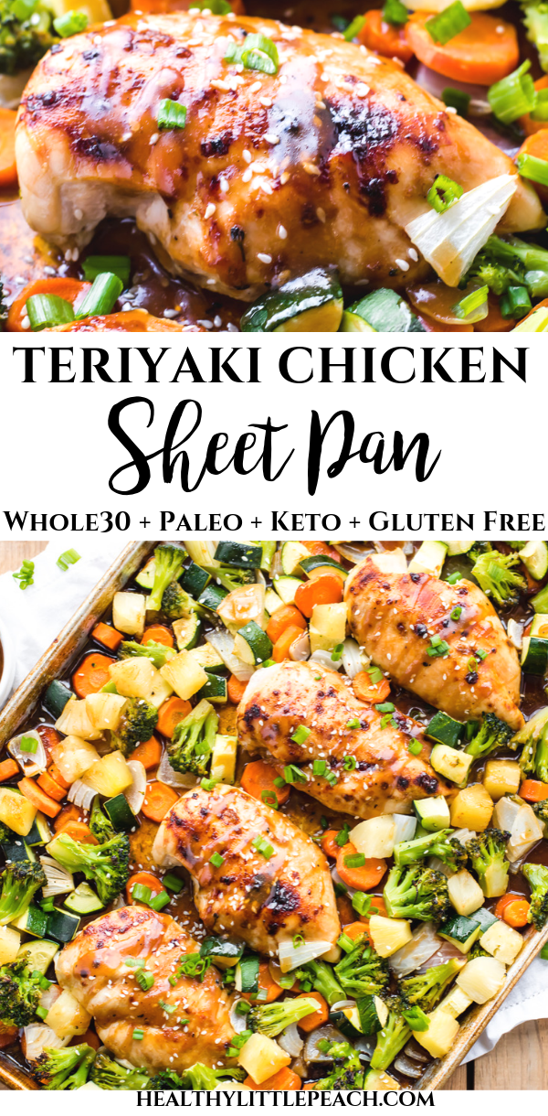 Teriyaki Chicken Sheet Pan images