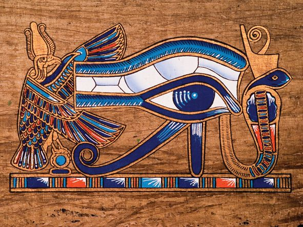 The Falcon The Eye Of Horus And The King Cobra Walk Like An