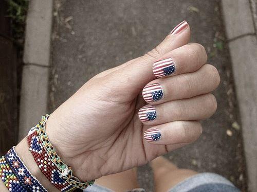 #nails #eua #flag