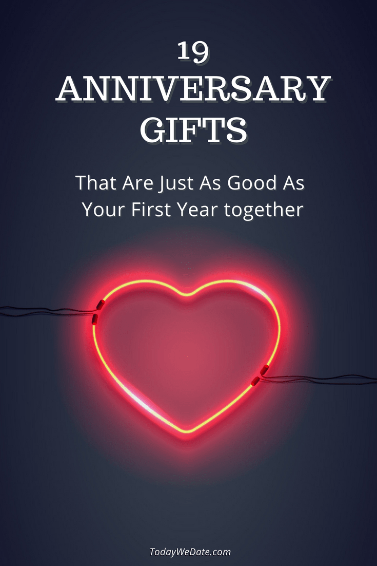 19 Anniversary Gifts That Are Just As Good As Your Anniversary Gift Ideas For Him Boyfriend 1st Wedding Anniversary Gift For Him Anniversary Gifts For Husband