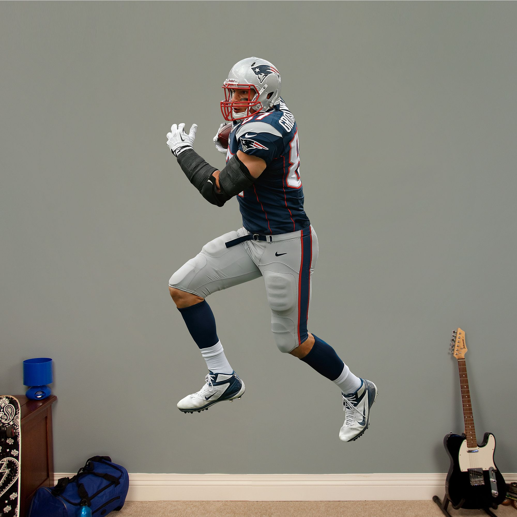 Rob Gronkowski   Tight End REAL.BIG. Fathead Wall Decal | New England  Patriots