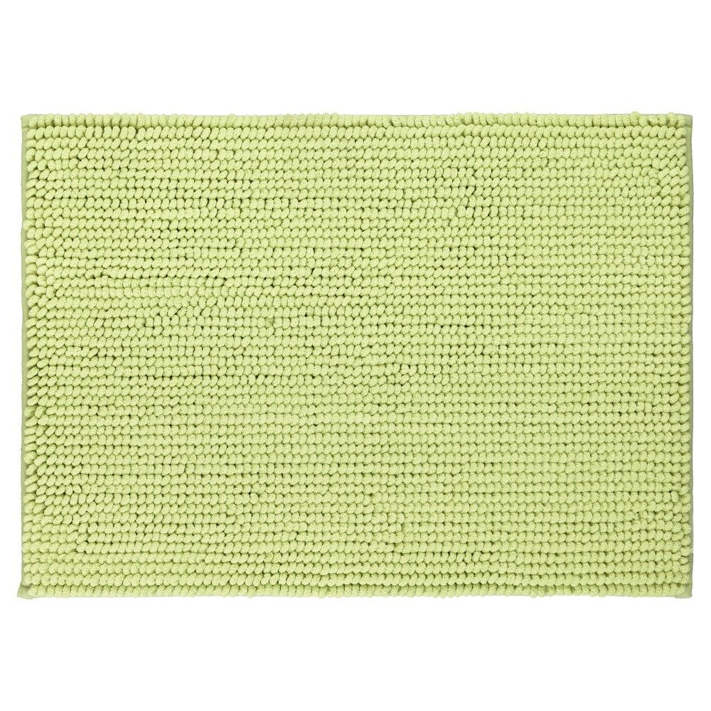 Looped Memory Foam Bath Mat Green 17 X24 Mohawk Home